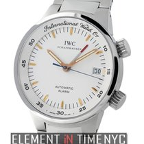 IWC GST Collection Alarm Stainless Steel White Dial 40mm