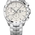 TAG Heuer Link Automatic Chronograph Calibre 16 Silver Dial