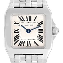 Cartier Santos Demoiselle Ladies Stainless Steel Quartz Watch...