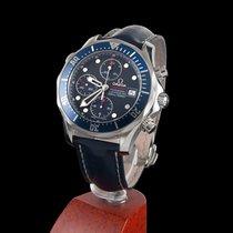 Omega seamaster 300m chrono diver steel automatic
