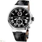 Uylsse Nardin Marine Chronometer Stainless Steel Men`s Watch