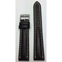 Breitling Lederarmband schwarz 18/16mm 414X/A16BA.1
