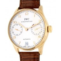 IWC Portoghese 7 Days Iw500101 Red Gold, Leather, 42mm