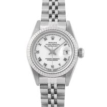 Rolex Datejust Ladies  Steel with White Roman Numeral Dial,Papers