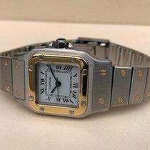 Cartier Santos Galbee Lady Gold Steel 34 x 23 mm
