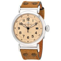 Glycine F 104 Tan Dial Automatic Men's Watch