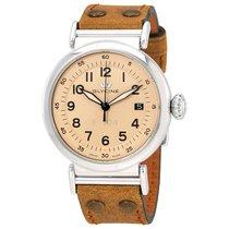 Glycine F 104 Tan Dial Automatic Men's Watch
