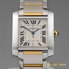 Cartier TANK FRANCAISE 18K&S.Steel AUTOMATIC Ref.2302