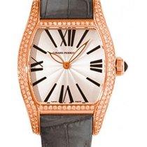 Girard Perregaux Richeville Lady Tonneau 18K Solid Rose Gold...