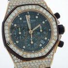 Audemars Piguet Royal Oak Offshore Chronograph Lady 18K Rose...