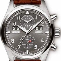 IWC [NEW]Spitfire Perpetual Calendar Digital Date-Month IW379107