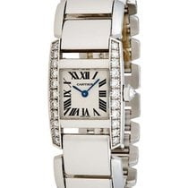 Cartier Tankissime 18K White Gold & Diamond Watch – WE70039H