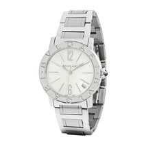 Bulgari Lady Ladies Automatic MOP Dial Steel Watch Ref. BBL33WSSD