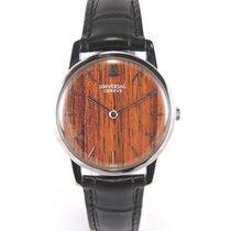 Universal Genève Wood dial 3106 255 ultra thin