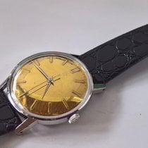 Eterna rare goldplated dial, serviced in good working condition