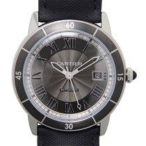 Cartier Rotonde De Cartier Stainless Steel Black Automatic...