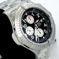 Breitling Super Avenger A13370 48mm Chronogaph Automatic Black...