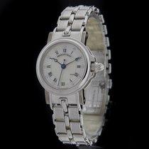 Breguet White Gold Marine Diamond Watch 8400BB