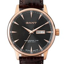 Gant W10705 Covingston Herrenuhr braun grau rose 44 mm