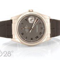 Ρολεξ (Rolex) Datejust 116139 Weißgold Steel Dial - 36 mm aus...