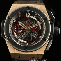 Hublot King Power Miami Heat 748.om.1123.rx Rose Gold Box/pape...