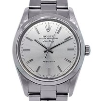 Rolex Airking 14000M Stainless Steel Domino's Collectible...