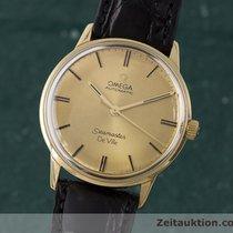 Omega 18k (0,750) Gold Seamaster Herrenuhr Automatik Vintage 1967