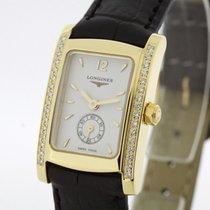 Longines Dolce Vita Ladies solid 18K Gold Diamonds SERVICED...