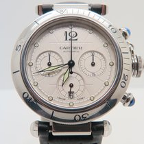 Cartier Pasha Chronograph Open Back (With Box)