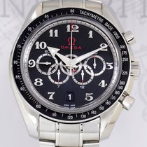 Omega Speedmaster Olympic Collection black Chronograph 44.25...