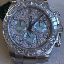 Rolex 116576 Daytona Platinum Full Diamonds ICE New