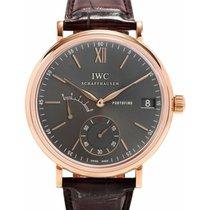 IWC Schaffhausen IW510104 Portofino Hand-Wound Eight Days...