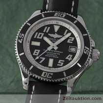 Breitling Superocean 42 Chronometre Automatk Stahl Herrenuhr...