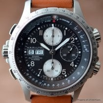 Hamilton X-WIND H776160 45MM 7750 AUTOMATIC STAINLESS STEEL...