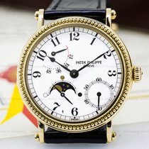 Patek Philippe 5015J Moonphase Power Reserve 18K Yellow Gold...