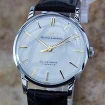 Seiko Laurel 1960s Manual Made in Japan 33mm Vintage Stainless...