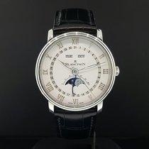 Blancpain Villeret Moonphase Complete Calendar 40mm 6654A-1127...