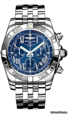 Breitling Chronomat 44 Stainless Steel Polished Bezel