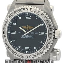 Breitling Emergency Titanium 43mm Charcoal Grey Dial Ref. E56321