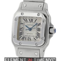 Cartier Santos Collection Santos Galbee Ladies Stainless Steel...