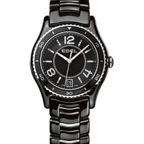 Ebel X-1 Black Ceramic Case and Bracelet, Date