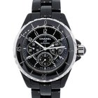 Chanel J12 Black Automatic Chronograph 41mm Watch