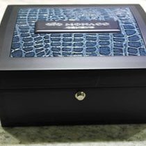 gio monaco watch box blu big size newoldstock