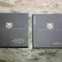 TAG Heuer vintage pair of booklets for  caliber 17