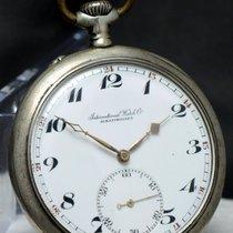 IWC Pocket Watch Vintage .800 Silver Taschenuhr Silber