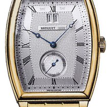 Breguet Heritage Big Date Silver Dial 18kt Yellow Gold...