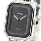 Chanel Premiere Size L Steel Quartz Ladies Watch H0451 (bf106104)