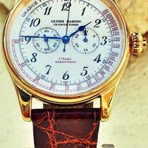 Ulysse Nardin 386-88 Monopusher Chronograph 18kt Limited...