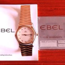 Ebel Sport Classique Diamond MOP 18K Yellow Gold and SS Date...