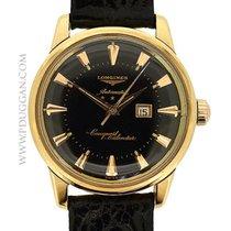 Longines 18k rose gold vintage Conquest Calendar